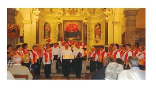 Concert de la chorale Trini-Choeur