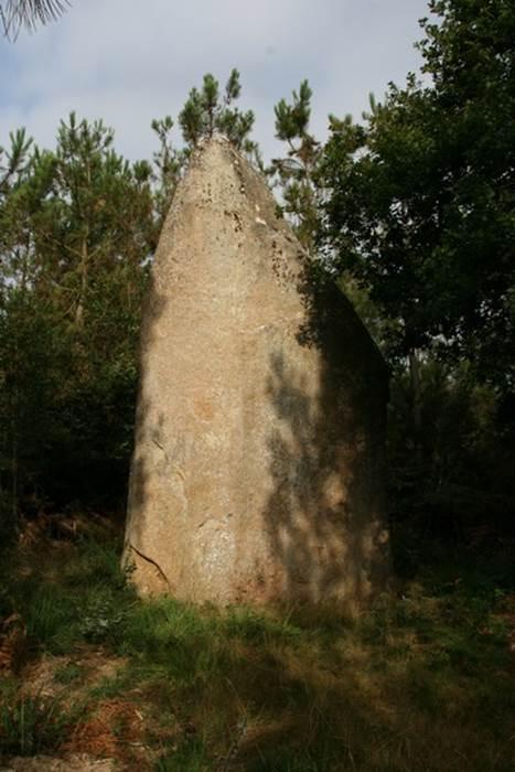 Menhir Regnon-Rannion