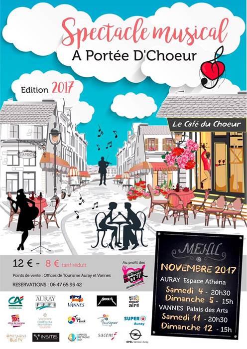 Un Automne Autrement - Spectacle Musical « Le Café du Coeur »