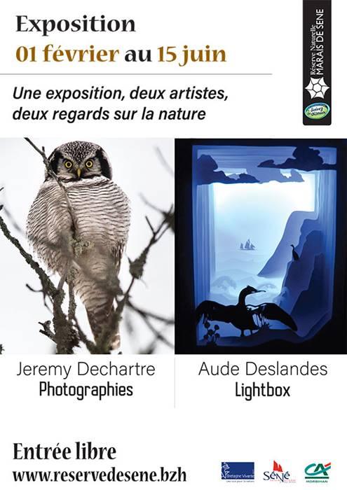 Exposition Jérémy Dechartre & Aude Deslandes