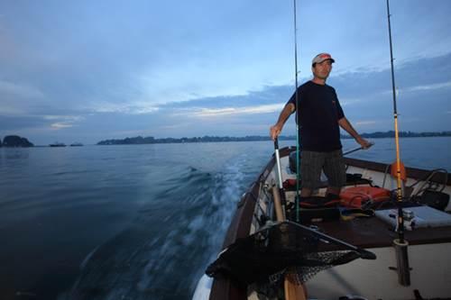 Escale Pêche - guide de pêche Golfe du Morbihan