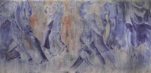 Exposition Maryvonne Deligny (Peinture) au Moulin de Pen Castel