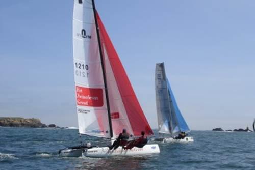 Régate départementale catamaran et dériveur