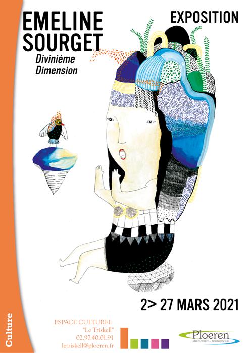 Divinième Dimension - Expo Emeline Sourget