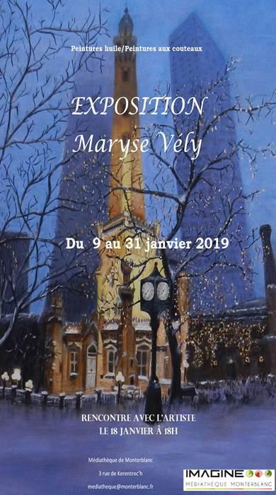 Exposition de Maryse Vély