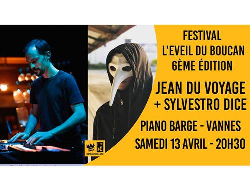 Festival l'Eveil du Boucan #6 : Jean du voyage + Sylvestro Dice