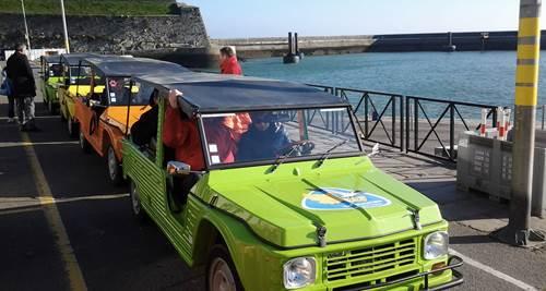 Rallye en Méhari ou 2 CV en Bretagne avec Armor Evasion