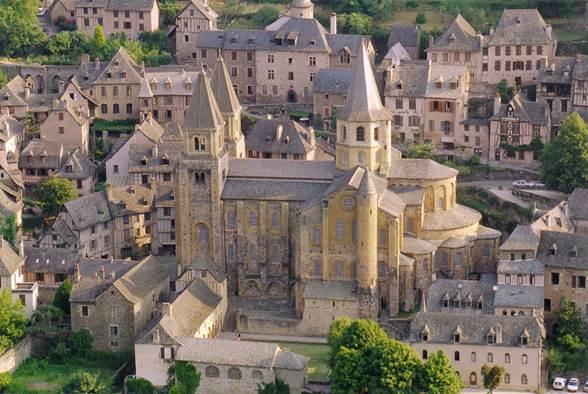 L'Abbatiale Sainte-Foy
