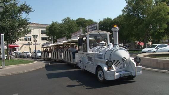 Petit train touristique d'Alès
