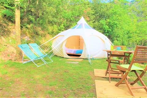 Camping Le Moulin du Luech Insolite
