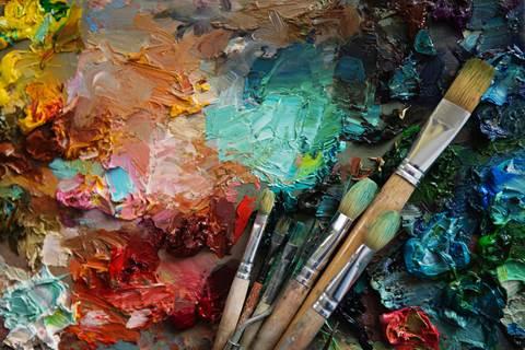 Exposition de peintures Hocine