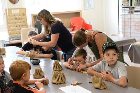 Les ateliers de l'été à Préhistorama