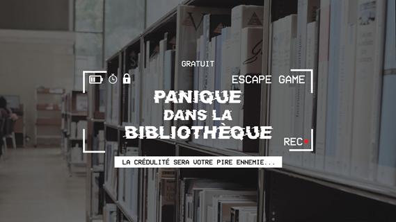Escape Game - Panique à la bibliothèque