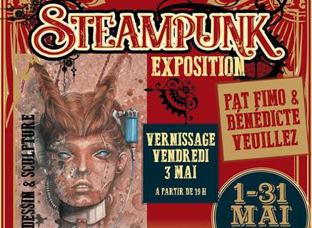 Exposition du mois de Mai - Steampunk