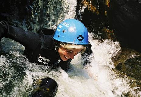 Découverte canyoning