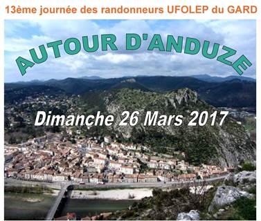 13 ème journée des randonneurs UFOLEP du Gard, autour d'Anduze
