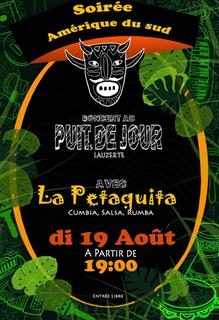 Soirée Amérique du Sud - café musical  Le Puits de Jour