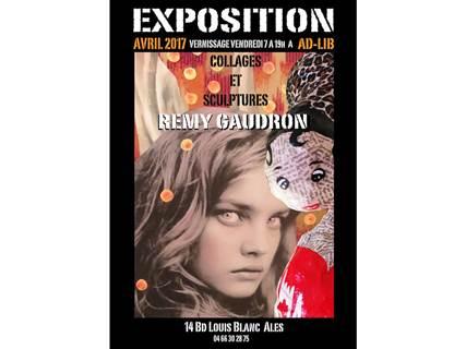 Expo chez Ad Lib - Remy Gaudron