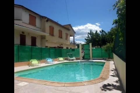 Aux portes d'Anduze en Cévennes gîte 2/4p, piscine, climatisation, wifi