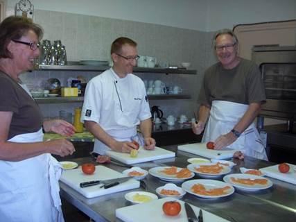 Cours de Cuisine au Château de l'Hoste