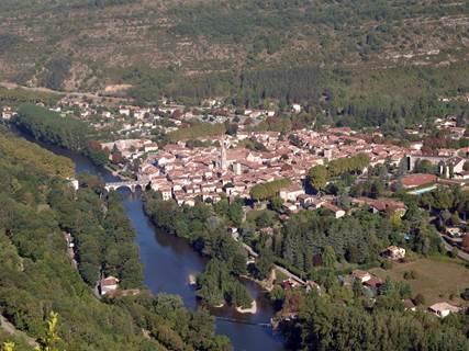 Sentier de la Loutre à St-Antonin-Noble-Val