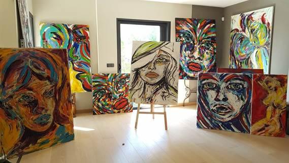 Exposition de Valérie Guérinoni