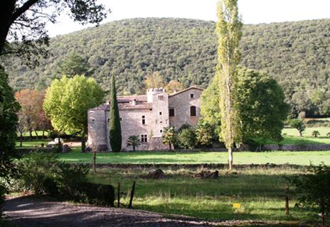 Château de Malérargues à Thoiras