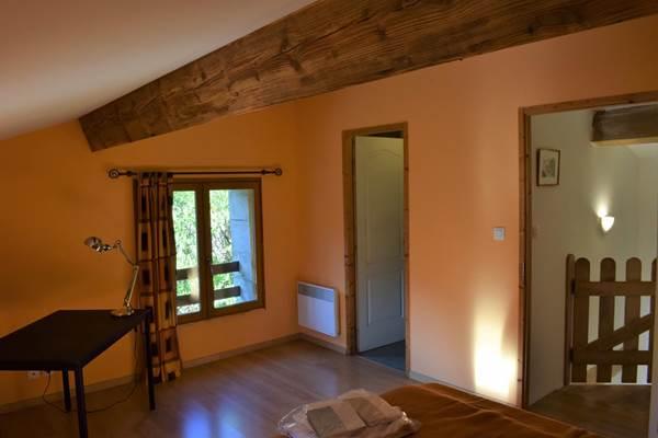 chambre étage maison 4 pers Foix