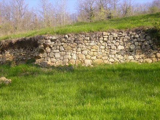 Mur du Mesplé-Le Mas d'Azil