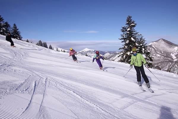Lovely ski