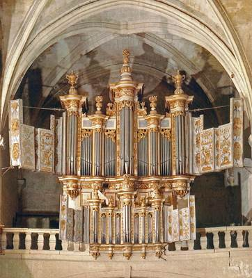 Concert d'orgue organisé par le Comité des Orgues d'Uzès