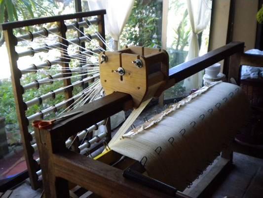 Ateliers ouverts : Tissage et filage avec Monette Mornet
