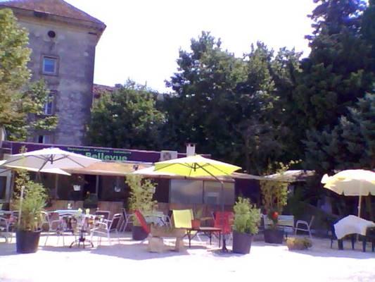 castillon du gard;gard;restaurant;restau