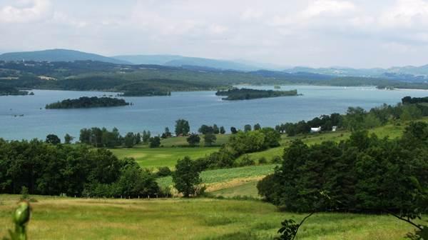 les rives du lac de Montbel