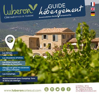 Guide Hébergement Luberon 2017