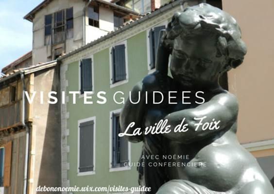 Visite guidée ville de Foix