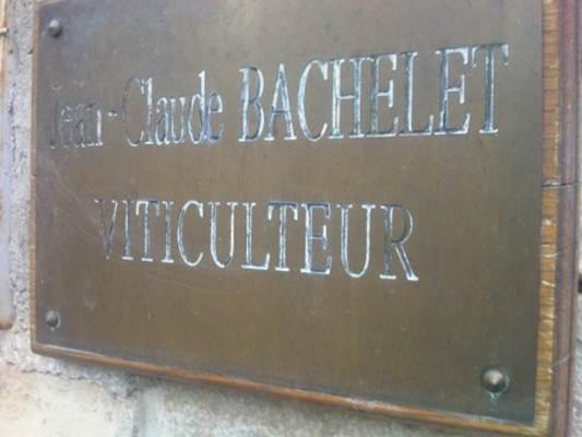 DOMAINE JEAN-CLAUDE BACHELET ET FILS