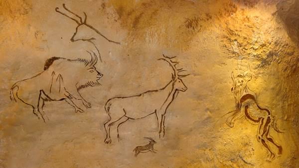 Musée de la chasse et de la Nature à Foix : peintures murales