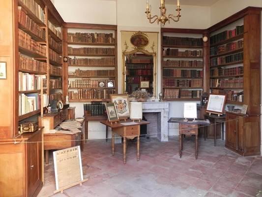 Chateau de Fiches Bibliothèque