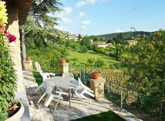 Balcon sur les vignes - Terrasse