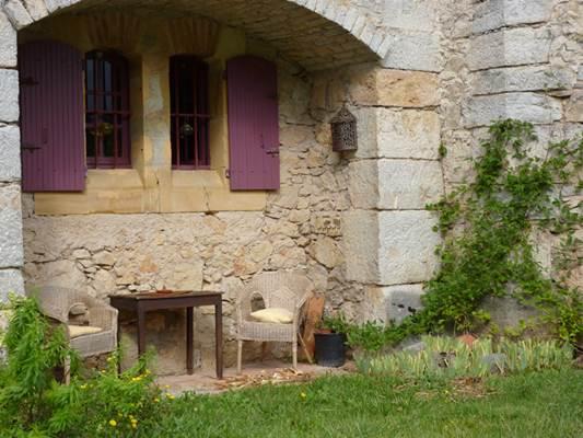 salon de jardin gite baulou