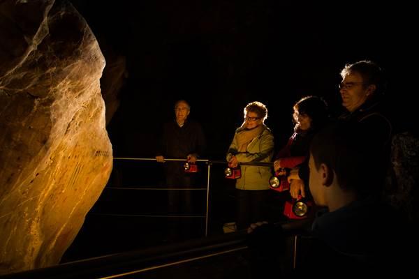 Grotte de Niaux - La visite - groupes