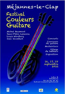 "Festival de Guitare ""Couleurs Guitare"""