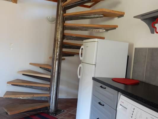escalier menant aux chambres maison 4 pers Foix