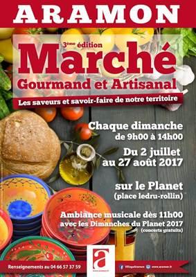 Marche gourmand et artisanal