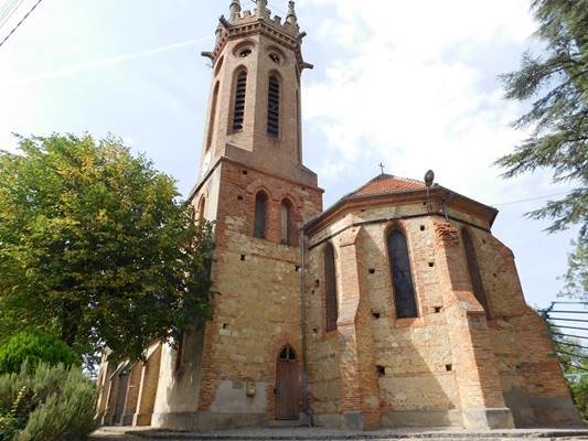 Eglise de Bajou Artigat