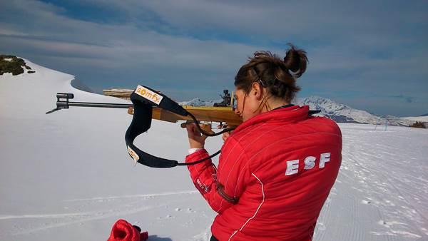 Biathlon ESF Beille - Une journée au Grand Air