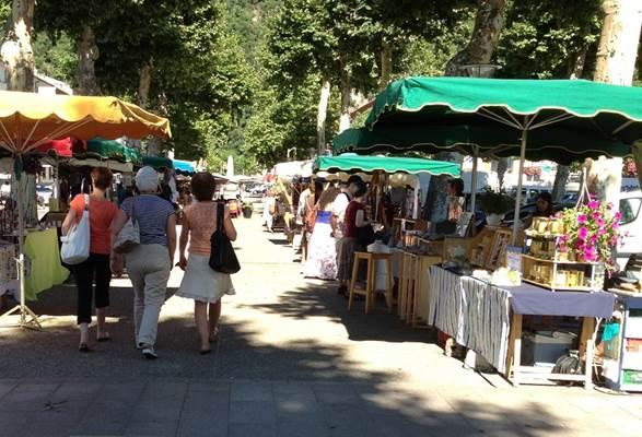 marché d'artisanat