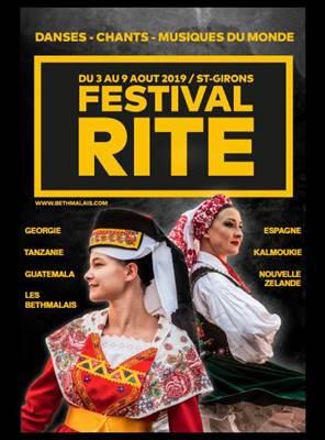 Festival Rite Affiche 2019