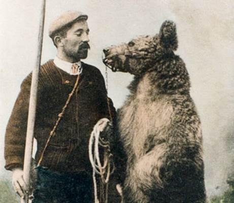Montreur d'ours